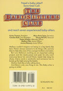 Baby-sitters Club 47 Mallory on Strike original back cover