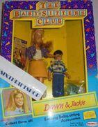 Dawn Jackie 1991 Remco dolls box front