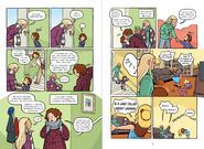 Dawn graphic novel pages 2 and 3