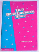 BSC Fan Club Address Book circa 1995