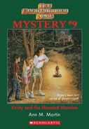 BSC Mystery 9 Kristy Haunted Mansion ebook cover