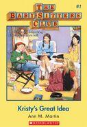 BSC 01 Kristys Great Idea ebook cover