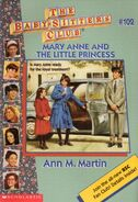 Baby-sitters Club 102 Mary Anne and the Little Princess cover