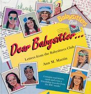 Chain Letter Dear Baby-sitter UK cover