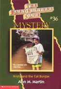 BSC Mystery 36 Kristy and the Cat Burglar cover
