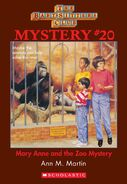 BSC Mystery 20 Mary Anne Zoo Mystery ebook cover