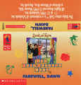 Baby-sitters Club 88 Farewell Dawn audio tape J-card front
