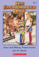 BSC 77 Dawn Whitney Friends Forever ebook cover