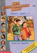 Baby-sitters Club 95 Kristy + Bart equals 1996 cover