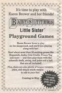 LS Playground Games bookad from BLS 72 1stpr 1996