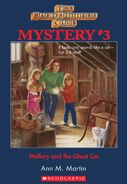 BSC Mystery 3 Mallory Ghost Cat ebook cover