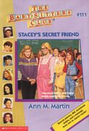 Baby-sitters Club 111 Staceys Secret Friend cover