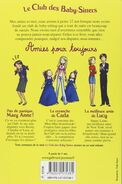 Amies pour toujours -- back cover
