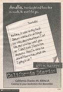 Amalia California Diaries 4 bookad from 112 1stpr
