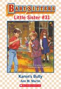 Baby-sitters Little Sister 31 Karens Bully ebook cover
