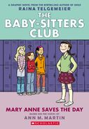 Mary Anne Saves the Day graphic novel full color cover