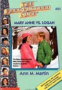 BSC - Mary Anne vs. Logan 1996 reissue cover