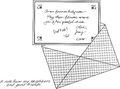 Clover Daffodil Austin letter to Dawn