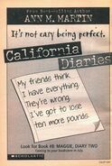 Maggie Diary Two California Diaries 8 bookad from SS15 1998
