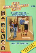 Baby-sitters Club 124 Stacey McGill Matchmaker cover