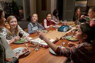 Sitting around dinner table Netflix Ep 6