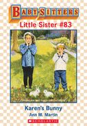 Baby-sitters Little Sister 83 Karens Bunny ebook cover