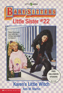 Baby-sitters Little Sister 22 Karens Little Witch cover 1stprint Halloween stickers