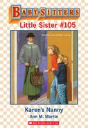 Baby-sitters Little Sister 105 Karens Nanny ebook cover