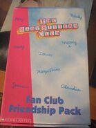 1997 Fan Club Friendship Pack case
