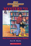 BSC Mystery 13 Mary Anne Library Mystery ebook cover