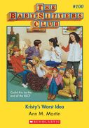 BSC 100 Kristys Worst Idea ebook cover