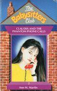 Baby-sitters Club 2 Claudia Phantom Phone Calls UK cover