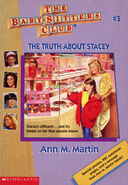 Baby-sitters Club 3 The Truth about Stacey reprint cover