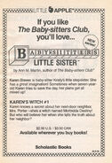 Little Sister series Youll love 01 circa Aug 1988 from BSC 15 1sted 1stpr