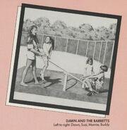 At Work Dawn Barretts Buddy Marnie Suzi from 1992 Calendar