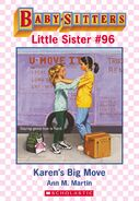 Baby-sitters Little Sister 96 Karens Big Move ebook cover