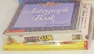 Autograph Book VHS 68 Pack front and side