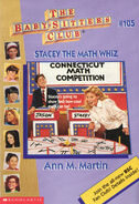 Baby-sitters Club 105 Stacy the Math Whiz cover