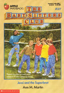 Baby-sitters Club 27 Jessi and the Superbrat original cover