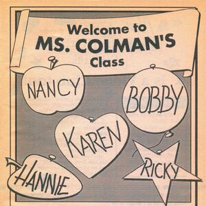 Kids in Ms Colmans class series bookad from BLS 63 1995.jpg