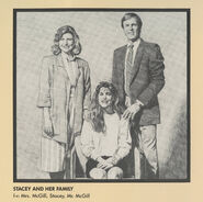 Stacey McGill Family Portrait from 1991 Calendar