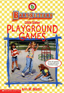 Baby-sitters Little Sister Playground Games front cover
