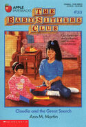 Baby-sitters Club 33 Claudia Great Search original cover
