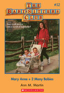 BSC 52 Mary Anne 2 Many Babies ebook cover