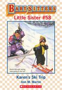 Baby-sitters Little Sister 58 Karens Ski Trip ebook cover