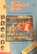 BSC - Jessi and the Super Brat 1996 reprint cover