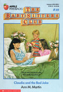 Baby-sitters Club 19 Claudia and the Bad Joke original cover