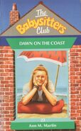 Baby-sitters Club 23 Dawn on the Coast UK cover