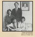 Claudia Family Portrait from 1991 Calendar