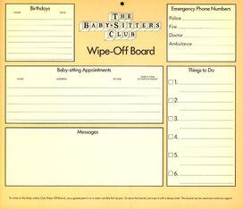 1991 calendar Wipe-Off Board